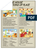 House Prepositions of Place