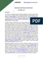 NOTICIAS Migración Frontera Sur octubre 2017.docx