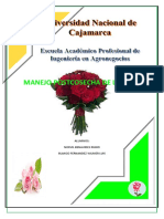 Monografia Post Cosecha de Rosas