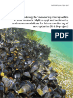 NIVA report on microplastics in blue mussels