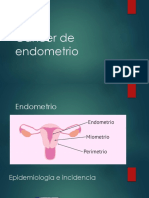 Cáncer de endometrio gineco