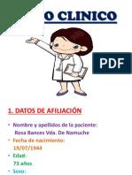 Caso Clinico Psicologia