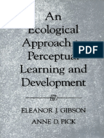 Eleanor J. Gibson, Anne D. Pick-An Ecological Approach to Perceptual Learning and Development (2003)