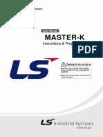 LG Master K200S Instruction