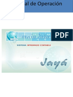 Manual Sistema Jayá