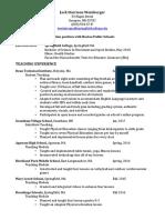 jack weinberger 18 resume