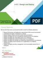 Day 1 - 2 Vsphere Design and Deploy Agenda - Copy