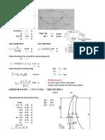 Ejemplo Dimensionamiento de Presas en arco
