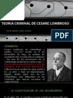 Teoria Criminal de Cesare Lombroso