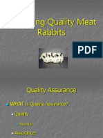Producing Quality Meat Rabbits
