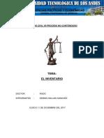 Derecho Civil Vii Proceso No Contencioso