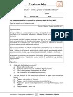 6Basico - Evaluacion N4 Lenguaje - Clase 3 Semana 18 - 1S.docx