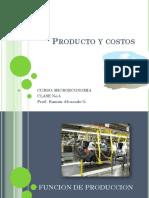 CLASE No. 5 Producto y Costos