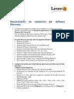 Requerimientos de Instalacion Del Software Discovery Advantage 2016 (2)