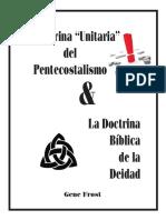 Ladoctrinaunitariadelpentecostalismo Libro Completo