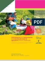 Sistematización de la implementación de las Escuelas de Campo de Agricultores (ECAs) en Andahuaylas