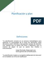 Planificación Nociones