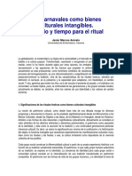 Carnaval Como Bien Intangible - España SA