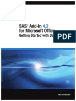 Sas Add in Microsoft Office
