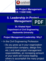 5. Leadership in Project Managetement. PDF