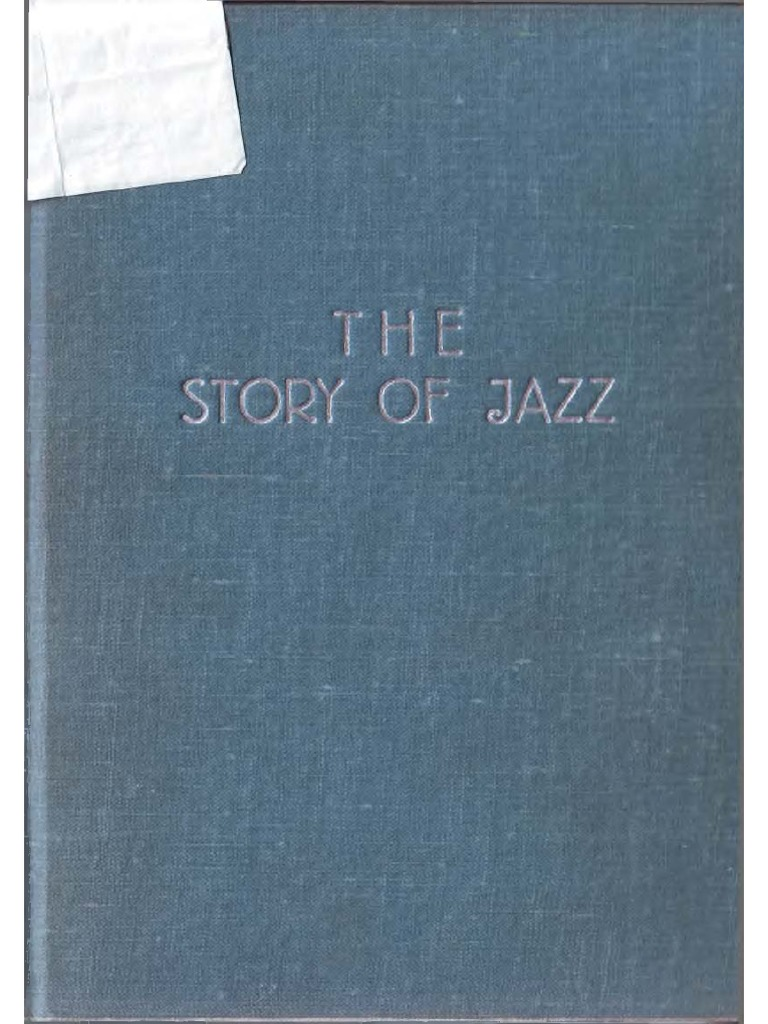 Marshall W. Stearns - The Story of Jazz (1956).pdf | Jazz | Slavery