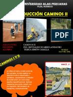 CAMINOS II Introduccion Al Curso