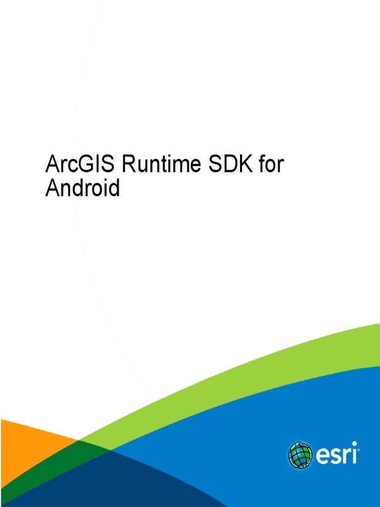 ARC GIS Android Guide | Arc Gis | Esri
