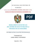 informe ABASTECIMIENTO