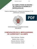 Merchandising de Carrefour y Alcampo (1)