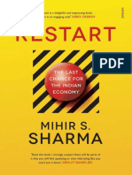 Mihir S. Sharma - Restart_The Last Chance for the Indian Economy