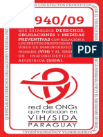 Manual de La Ley 3940 del VIH