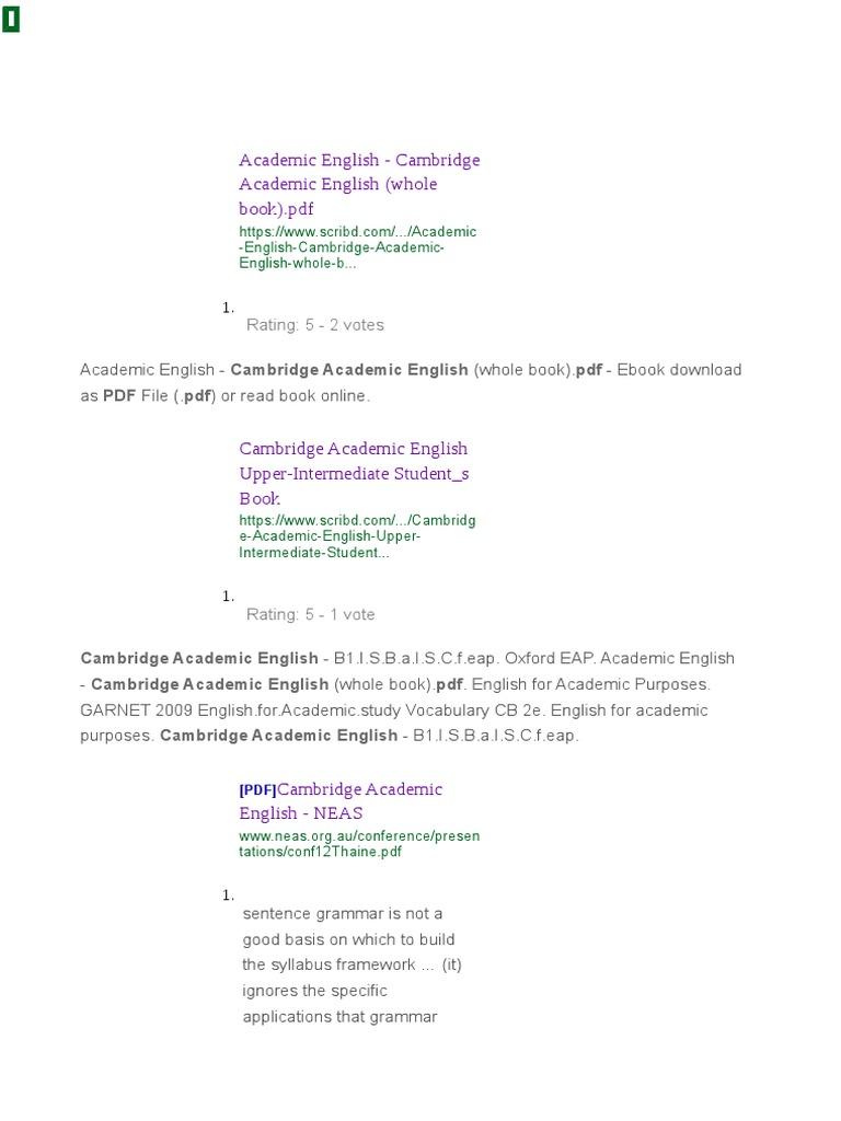 oxford eap upper intermediate pdf