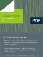 OBSERVACIÓN (CLASE 1)