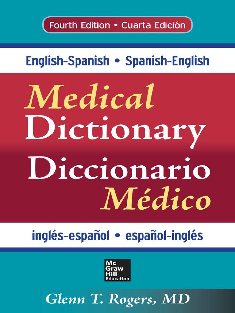 Diccionario Médico ing-esp | Grammatical Gender | English Language