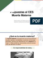Estrategia Reduccion Muerte Materna