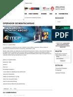 Operador de Montacargas - Instituto ITEP