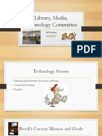 Library, Media, Technology Committee PowerPoint 12.8.17 2017-2018