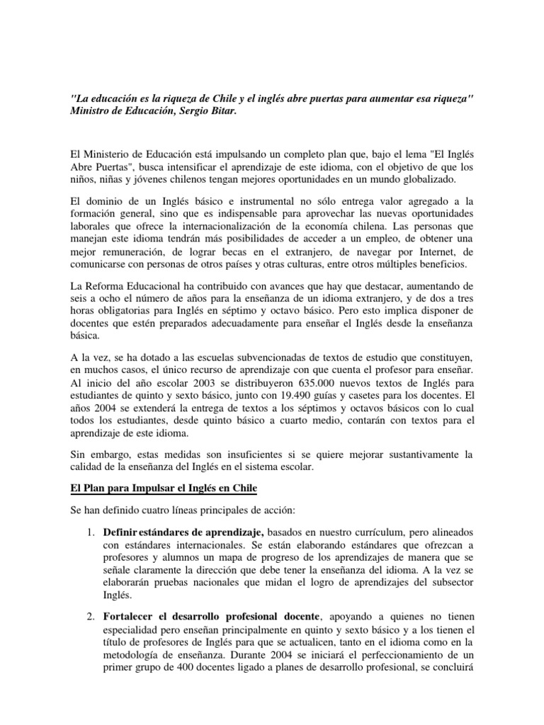 Anexo 6 Plan Ingles Chile