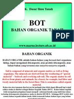 DASAR-ILMU-TANAH-BAHAN-ORGANIK-TANAH.ppt