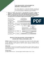 1a Protocol Angina Pectorala Instabila