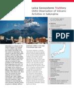 GNSS Observation of Volcanic Activities in Sakurajima TRU