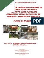 Proyecto Integral de Produccion Agropecuaria La Mulera Ajustado