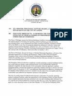 Mayor Virg Bernero's executive order