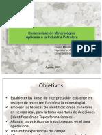 Caracterizacion Mineralogica Aplicada Ind Petrolera-evelyn