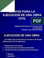 Clase de Ejecucion de Una Obra Civil