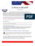This Week in Mcfp 27 Aug 2010