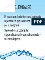 02 - El Embalse - Seleccion Presa - Estudios