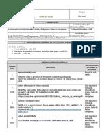 Plano de Aulas - Prática Pedagógica _ Leitura e Letramento