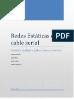 Redes Estáticas Con Cable Serial