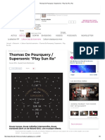 Thomas de Pourquery _ Supersonic - Play Sun Ra _ Fip